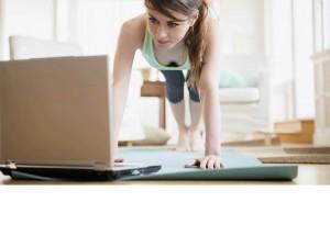 Coach sportif et Fitness en ligne via webcam skype