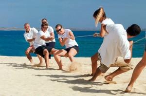 Team Building à la plage